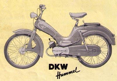 dkw hummel luxus zweirad union mopeds. Black Bedroom Furniture Sets. Home Design Ideas